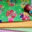 ผ้าคอตตอนสั่งจากอเมริกาขนาด 22.5 x 27.5cm +ผ้าพื้นในไทย 2 โทน ขนาด25x27.5 cm สั่งหลายจำนวนผ้าต่อกันค่ะไม่ตัดแยก thumbnail 1