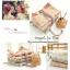 ผ้าเกาหลีจัดเซ็ทลายกระต่ายและดอกไม้เข้าชุดกันสองสี 1/4 หลา thumbnail 3