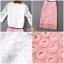 ชุดเซท เสื้อ+กระโปรง เป็นผ้าลูกไม้ thumbnail 5