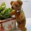 ตุ๊กตาหมีผ้าขนสั้นน้ำตาลกลาง ขนาด 11 cm. - Tubbyted thumbnail 4
