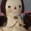 ตุ๊กตาผ้าเด็กผู้หญิงคันทรี่สูง 34 cm. - country doll ( girl ) thumbnail 3
