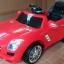 รถแบตเตอรี่เด็ก BenZ SLS สปอร์ตสุดเท่ห์ สีแดง / สีดำ thumbnail 5
