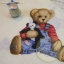 Teddy And Toys Tossed Cream thumbnail 1