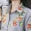 ชุดเดรส ผ้า Cottonปักดอกไม้ช่วงอก และแขน thumbnail 11