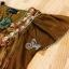 เสื้อตัวยาวแนวเดรสสั้น ปักดอกไม้ขึ้นลายนูน thumbnail 7