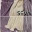 Dress คอวีบิดหน้าเอวลอยอัดพลีททั้งตัว ดีเทลคอวีลึก แขนยาว thumbnail 9