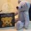 ตุ๊กตาหมีผ้าฝ้ายสีฟ้าขนาด 20 cm. - Friday thumbnail 5