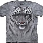 เสื้อยืด3Dสุดแนว(SNOW LEOPARD PORTRAIT T-SHIRT)