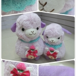 ตุ๊กตา อัลปาก้า Alpaca สีม่วง