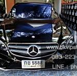 โลโก้เพชร Benz ติดฝากระโปรงรถ Swarovski