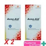 สบู่เหลว Acne-Aid liquid cleanser ขนาด 100 ml แพคคู่ 2 ขวด ตกชิ้นละ 174 บาท acneaid
