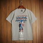 t-shirt Captain Americaเสื้อยืดแฟชั่นสุดแนว