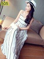 party dress505สีขาว