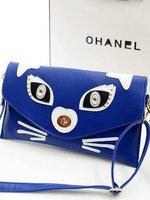 (พร้อมส่ง)กระเป๋าแฟชั่นเกาหลีหน้าแมวแทมมารีน สีตามภาพ