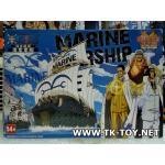 โมเดลเรือวันพีช Marine Warship Grand Ship Collection