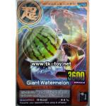 Giant Watermelon BRONZE RARE CARD