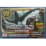 Animal Kaiser Evo 6 (ฉลามทอง) Super Rare A002EP: Great White Shark