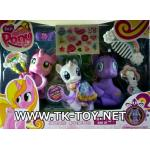 ม้าโพนี่ MY LITTLE PONY LOVELY SET-1