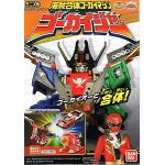 MINIPLA KAIZOKU COMBINE GOKAI MACHINE CANDY TOY (2)  6 กล่อง