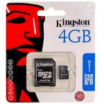 Kingston Micro SD Card Class 4 - 4GB