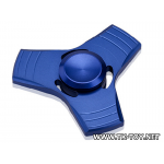 Fidget Finger Hand Spinner UFO สีน้ำเงิน [FS-02] พร้อมกล่องอลูมิเนียม