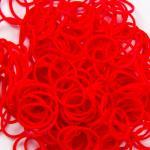หนังยางถัก สีแดง 1500 เส้น (Loom Bands Red)