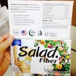 salad fiber สลัดไฟเบอร์ ลดน้ำหนัก 1 กล่อง 10 แคปซูล มากกว่านั้นราคาส่ง xx บาท โทรสอบถาม