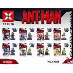 เลโก้ ANT MAN ฮีโร่พลังมด ชุด 8 ตัว [ANT-L1]