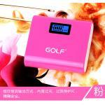PowerBank - Golf GF-LCD02 5200 mAh - สีชมพู