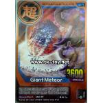 Giant Meteor BRONZE RARE CARD