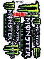 สติ๊กเกอร์ Monster 3