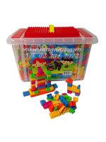 บล็อกตัวต่อชิ้นเล็กสำหรับเด็กโต 1280 ชิ้น ในกล่องพลาสติก