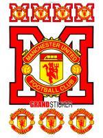 สติ๊กเกอร์แมนเชสเตอร์ ยูไนเต็ด 2 ( Manchester United 2 )