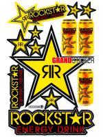 สติ๊กเกอร์ RockStar R9