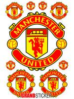 สติ๊กเกอร์แมนเชสเตอร์ ยูไนเต็ด 1 ( Manchester United 1 )