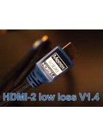 Merrex Kable HDMI-2 low loss V 1.4 ความยาว 1.8เมตร รองรับ 1.4 2160p 15.8 Gbit/s (4k x 2k)