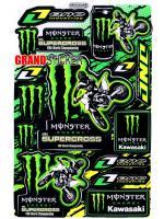 สติ๊กเกอร์ Monster 15
