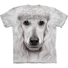 Big-Face Poodle Face Dog T-Shirts