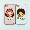 Face idea case: Boy & girl case i4/4s,i5/5s