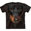 The Mountain Big Face Daschund Dog T-Shirts