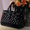 กระเป๋า Flower Heart รหัส FH0008 กระเป๋าแฟชั่นเกาหลี (สีน้ำเงินเข้มอมดำ)