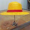หมวกฟางลูฟี่ วันพีช แบบมีเชือก