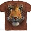 เสื้อยืด3Dสุดแนว(TIGER FACE T-SHIRT)