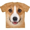 Big-Face Corgi Face Dog T-Shirts