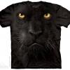 เสื้อยืด3Dสุดแนว(BLACK PANTHER FACE T-SHIRT)