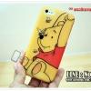 เคสiPhone5c - TPU ลายการ์ตูน หมีพูห์