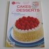 CAKES & DESSERTS พิมพ์ครั้งที่ 2 โดย ทีมงานแม่บ้านคลับ***สินค้าหมด***
