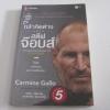 กล้าคิดต่างอย่างสตีฟ จ๊อบส์ (The Innovation Secrets of Steve Jobs) พิมพ์ครั้งที่ 5 Carmine Gallo เขียน ศรชัย จาติกวนิชและประสิทธิ์ชัย วีระยุทธวิไล แปลและเรียบเรียง***สินค้าหมด***