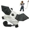 แบทแมน Baby Safety Backpack Harness, Batman 2 in 1 กระเป๋าเป้เด็กใส่ของ + สายจูงเด็กกันเด็กหลงค้างคาว ขนาดเป้ : สูง 15.5 cm.กว้าง 18 cm. เชือกจูงยาว 78 cm.สีจริงภาพสุดท้าย