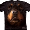 The Mountain Big Face Rottweiler Dog T-Shirts